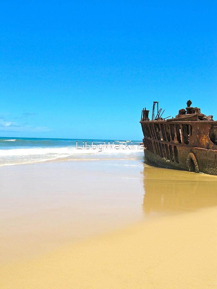 Maheno Shipwreck by LibbyWatkins