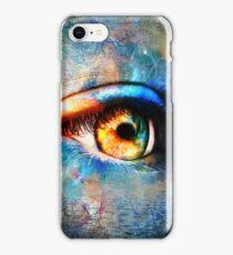 Through the Time Travelers Eye iPhone Case/Skin
