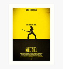 "Movie Poster - ""KILL BILL - Vol.1"" Art Print"