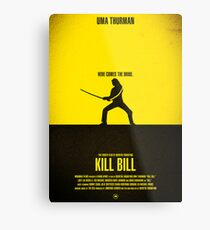 "Movie Poster - ""KILL BILL - Vol.1"" Metal Print"