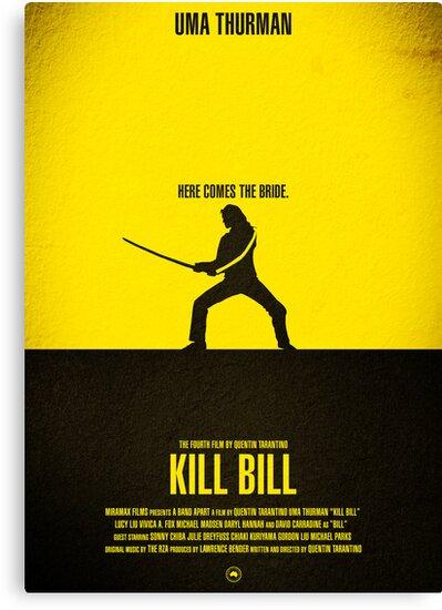 "Movie Poster - ""KILL BILL - Vol.1"" by Mark Hyland"