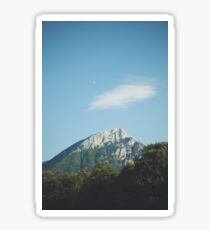 Mountains in the background VIII Sticker