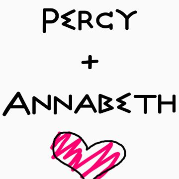 Percy+Annabeth Shirt (2nd edition) by Quickysilver
