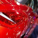 Peugeot RCZ Back Red Light [ Print & iPad / iPod / iPhone Case ] by Mauricio Santana
