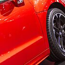 Peugeot RCZ Red Door [ Print & iPad / iPod / iPhone Case ] by Mauricio Santana