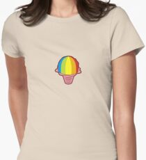 Hawaiian Shave Ice Women's Fitted T-Shirt
