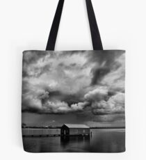 Under a Cloudy Sky Tote Bag