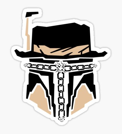 JANGO UNCHAINED Sticker