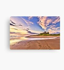 Bamburgh Sunrise Canvas Print