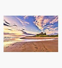 Bamburgh Sunrise Photographic Print