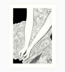 who will take my hand? Art Print