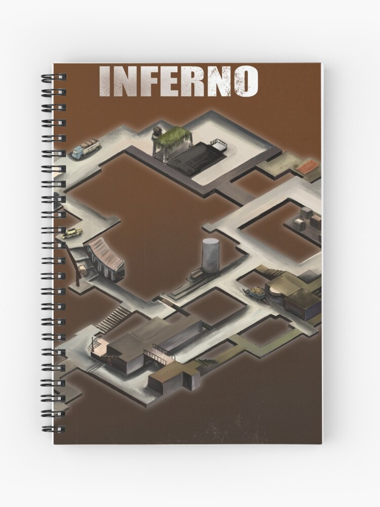 Inferno Isometric map Poster/Sticker | Spiral Notebook on supernatural map, narco map, beowulf map, aeneid map, purgatorio map, divine comedy map, autobahn map, gta san andreas map, 9 circles of hell map, battlefield map, the odyssey map, revelation map,