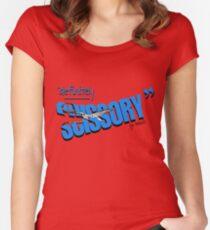 """""""Definitely Scissory"""" Women's Fitted Scoop T-Shirt"""