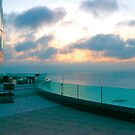 Sunrise at the Revel Resort Atlantic City by Imagery