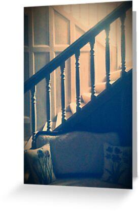 Grandparent's Stairwell  by SunShineInMySky