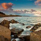 Un tramonto di fine dicembre by Andrea Rapisarda