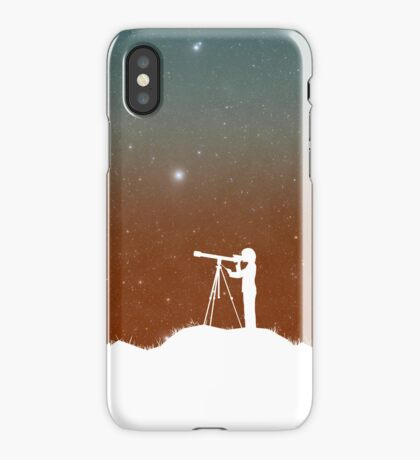 Through the Telescope iPhone Case/Skin