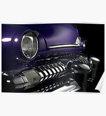 Mercury Sedan 1951 Top Chop #4 Poster
