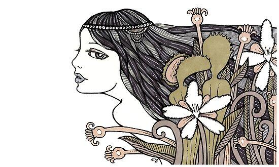 Venus Fly Trap by Anita Inverarity