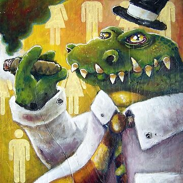 Alligator in Top Hat I by dmueller138