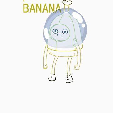 Banana Man (minimal) by Sirkib