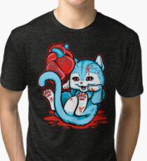 Cat Got Your Heart? Tri-blend T-Shirt