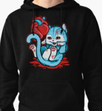 Cat Got Your Heart? Pullover Hoodie