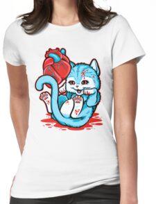 Cat Got Your Heart? Womens Fitted T-Shirt