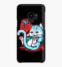Cat Got Your Heart? Case/Skin for Samsung Galaxy