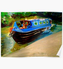Picture Yourself on a Boat on a River, With Tangerine Trees and Marmalade Skies Poster