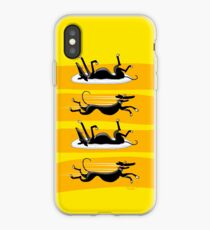 Zoomin' Snoozin iPhone iPhone Case