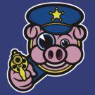 PIGGY COP by SmittyArt