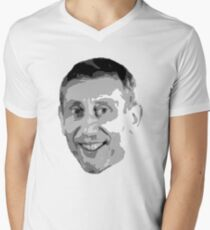 CLICK! Nice. - Michael Rosen Without Text Men's V-Neck T-Shirt