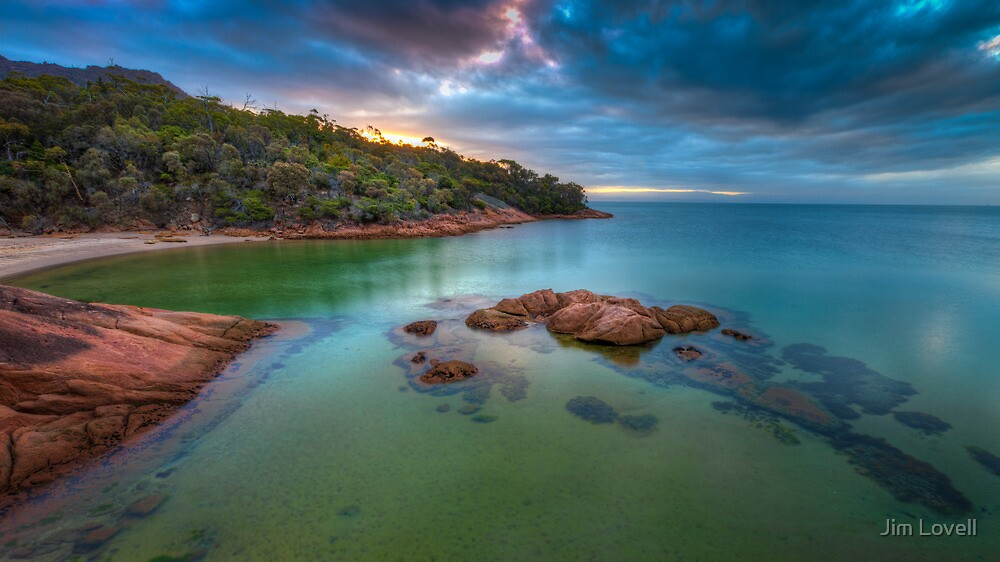 Freycinet Sunset, Tasmania by Jim Lovell