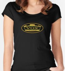 Gold Vox Amp Women's Fitted Scoop T-Shirt