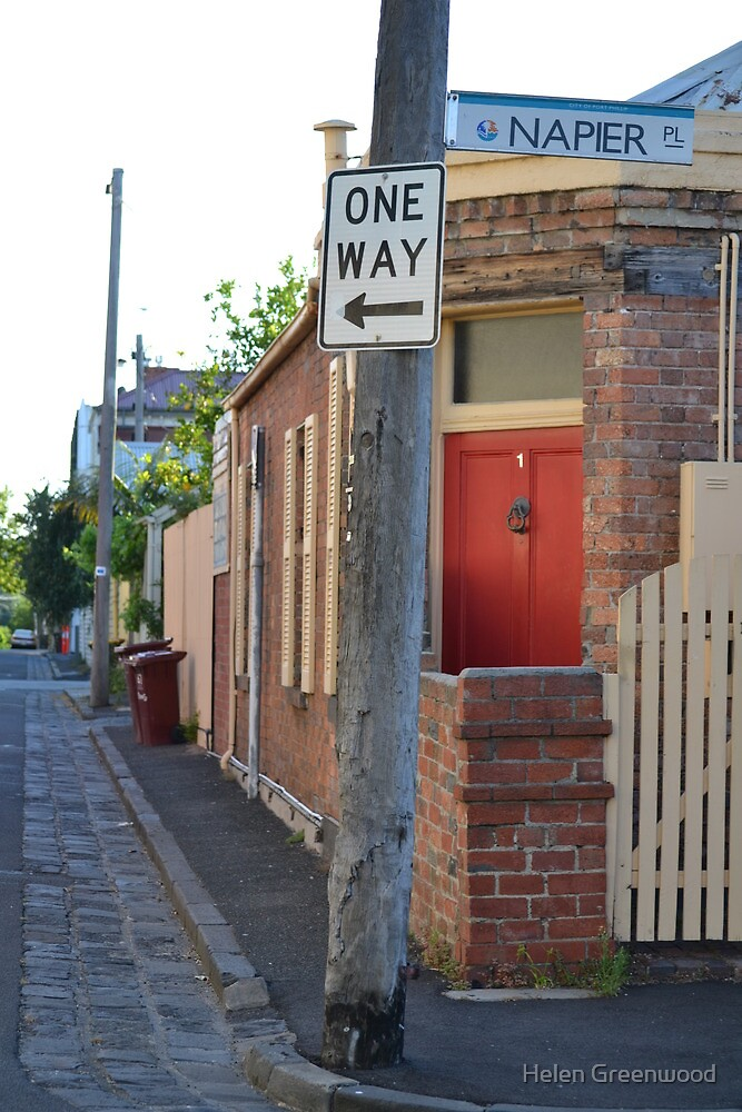 South Melbourne Streetscape by Helen Greenwood