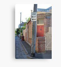 South Melbourne Streetscape Metal Print