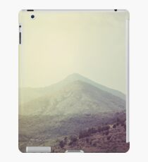 Mountains in the background III iPad Case/Skin