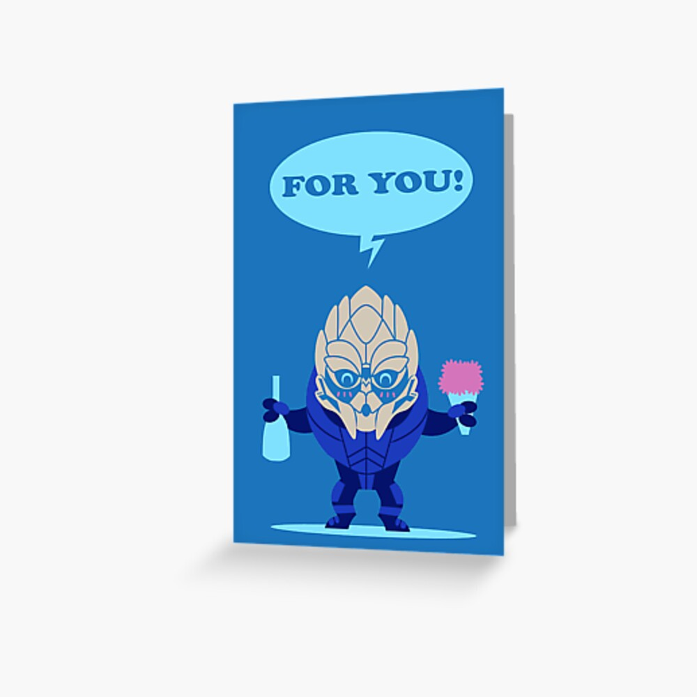 I brought wine Greeting Card