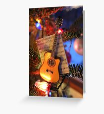 Guitar greeting cards redbubble guitar ornament greeting card m4hsunfo