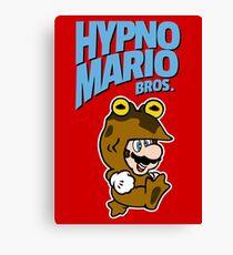 HypnoMario Bros Canvas Print
