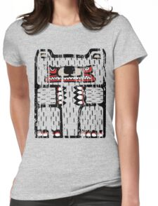 Bear Totem Womens Fitted T-Shirt