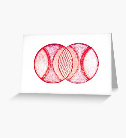 Venn Diagramming Greeting Card