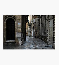 Streetscape in Baroque Photographic Print