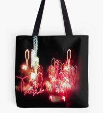 Light Drips Tote Bag