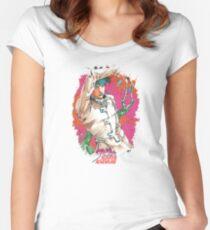 JoJo's Bizarre Adventure - Rohan Women's Fitted Scoop T-Shirt
