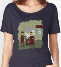 Snowglobes and Souffle Girl Women's Relaxed Fit T-Shirt