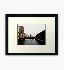Chicago River Dreams Framed Print