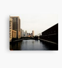 Chicago River Dreams Canvas Print