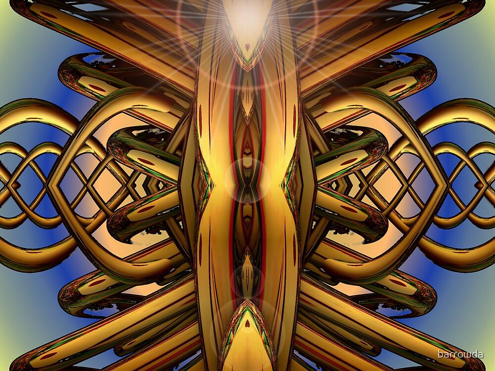 M3D: 500 Golden Rings  (G1015) by barrowda